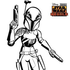 star wars coloring pages for kids | kids coloring pages | pinterest - Boba Fett Coloring Pages Printable