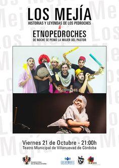 Teatro: Los Mejía y Etnopedroches en Villanueva de Córdoba