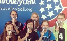 #6 Picture with the USA Volleyball, Molten or Mizuno logo
