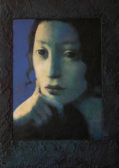Nicoletta Tomas Caravia, a Spanish figurative painter.