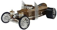 Munsters casket car