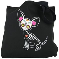 Yujean Evilkid Chihuahua Muerta Sugar Skull Skeleton Dog ... http://www.amazon.com/dp/B00UUDXH5M/ref=cm_sw_r_pi_dp_2Uswxb1XF8M5B