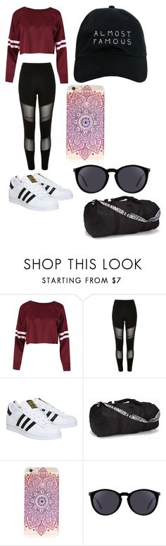 """IDK"" by officialajaxxx ❤ liked on Polyvore featuring River Island, adidas, Under Armour, Yves Saint Laurent and Nasaseasons"