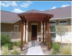 Pergola For Front Entrance Of House Designs on attached pergola, house without front door, wire pergola, white cedar pergola, back porch pergola, front porch pergola, curved deck with pergola, house plans ranch style with pergolas, front yard pergola, house with porch front door,