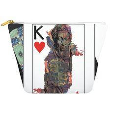 Play Your Hand...King Heart No. 1 Dopp Kit