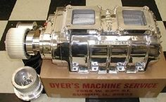 8-71 NEW Blower,  Ford 351C & BOSS  Complete with Manifold  Drive  DYER polished #DYER