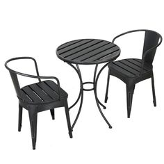 Shop Best Selling Home Decor Colmar Outdoor Bistro Set at Lowe's Canada. Find our selection of outdoor dining sets at the lowest price guaranteed with price match. Home Decor Furniture, Home Decor Items, Furniture Sets, Outdoor Furniture, Furniture Design, Outdoor Dining Set, Patio Dining, Outdoor Spaces, 3 Piece Bistro Set