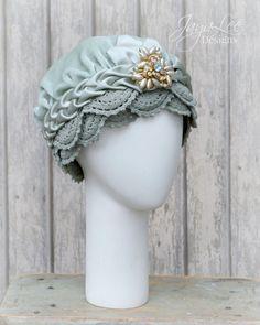 Gypsy Turban Cloche Hat -Glamorous 1920's Style!