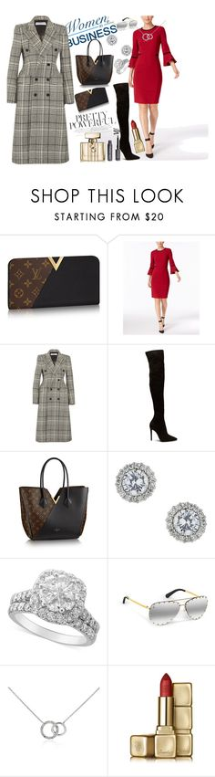 """Pretty Powerful"" by nikitamerchant ❤ liked on Polyvore featuring Calvin Klein, Balenciaga, Miss Selfridge, Blue Nile, Guerlain and Gucci"