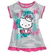 Hello Kitty Kids Shirt, Little Girls Printed Tunic