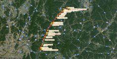 북한강울트라마라톤대회 구글맵-00