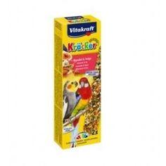 Витакрафт Крекер для австралийских больших попугаев с фруктами 2 шт. - Интернет зоомагазин Dogstars. Купить корм для собак и кошек в Николаеве