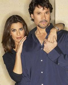 Kristian Alfonso and Peter Reckell...Hope and Bo Brady