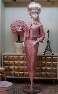 Image result for plum gold brocade doll dress