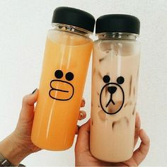2015 500ML My Bottle Sally chicken or Brown Bear Portable Water Cup Plastic Pop #UnbrandedGeneric