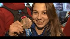 16 year old Israeli skier Noa Szollos wins her country s first ever Wint...