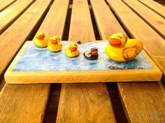 Table, Gifts, Home Decor, Ideas, Painted Rocks, Ducks, Presents, Decoration Home, Room Decor