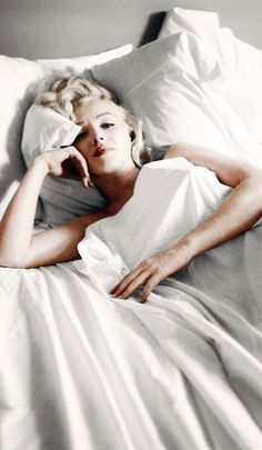 """""""The Bed Sitting"""" by Milton Greene  ~1953"""