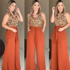 Para as meninas que gostam de #pantalona ❣️❣️ arrasta pro lado e me diz qual seu look favorito!!! . . . . . . . . . #boanoite #buenasnoches…