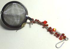 Tea Red Ball Infuser by AAngelsBonAppeTea on Etsy, $5.00