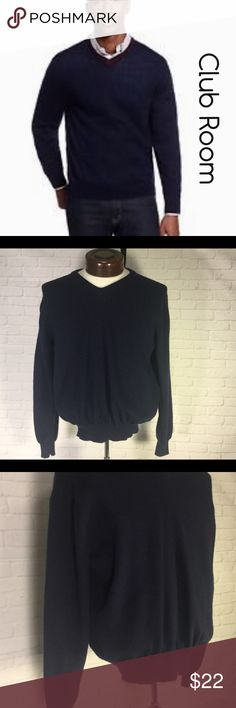 "Club Room Men's merino cardigan sweater medium This is a Men's Club Room 100% merino Navy cardigan sweater size medium.  This sweater is in EXCELLENT CONDITION free from any rips, stains or discoloration and comes from a smoke free home.  Armpit to armpit measures 20"" length 22.5"" approx. laying flat.  Buy with confidence I am a Posh Ambassador, top rated seller, mentor and fast shipper.  Don't forget to bundle and save.  Thank you. Club Room Sweaters Cardigan"