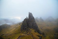 Old Man Of Storr, Isle Of Skye, Scotland. Think a cloud was passing through at the time (OC) × : EarthPorn Best Of Scotland, Skye Scotland, Highlands Scotland, National Photography, Nature Photography, Yorkshire Dales, Yorkshire England, Our Planet Earth, Scotland Castles
