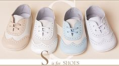 S is for Shoes ★ Baby Beau & Belle