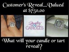 Jewelry in candles makes a great two in one gift!! www.jewelryincandles.com/store/charissacurtis