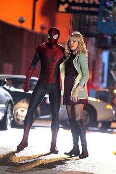 New Amazing Spider-Man 2 set pics hint at MAJOR twist ending   Blastr