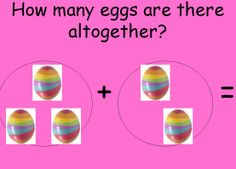 Easter egg addition. Use this colourful PowerPoint presentation to help pupils develop basic addition and numeracy skills.