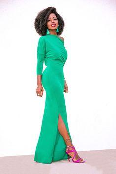 Style Pantry | Drape Maxi Dress.