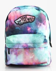 Vans Realm Backpack - Galaxy/Nubula/True White - RouteOne.co.uk