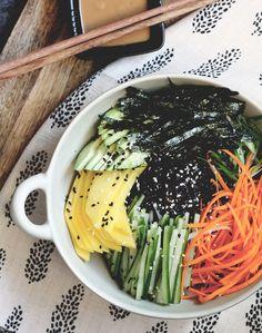 Seasoned Black Rice sushi bowl  15 Ridiculously Good Rice Bowl Recipes to Serve Tonight