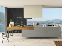 36E8 WILDWOOD | Küche mit Kücheninsel