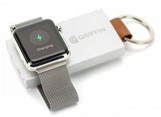 Griffin introduce un mini cargador/batería portable para Apple Watch #CES2016