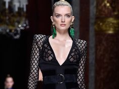 """A decade or so ago, Balmain was a fuddy-duddy, little-remembered label whose most successful recent mass product launch was a seventies line of faux chevaux (Balmain Hair Couture; it's still going today). Oscar de la Renta helmed the haute couture until 2002, satisfying its founder's love of """"Jolie Madame"""" suits and dressing the world's richest women, richly. After his tenure, the house languished."""