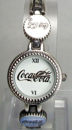 Collectors Coca-Cola Bottle Cap Watch Bottle Cap por DISNEYJEWELS
