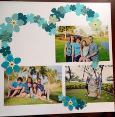 Scrapbook.com   Heart with flowers!                                                                                                                                                                                 More