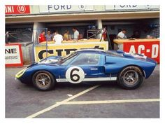 24 Hours of LeMans, LeMans, France, Mario Andretti & Lucien Bianchi Holman Moody Ford Mark II: Le Mans, Course Automobile, Mario Andretti, Sailing Regatta, Carroll Shelby, Vintage Race Car, Vintage Auto, Ford Shelby, Ford Gt40