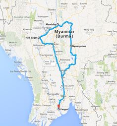 Two weeks in Burma Myanmar itinerary