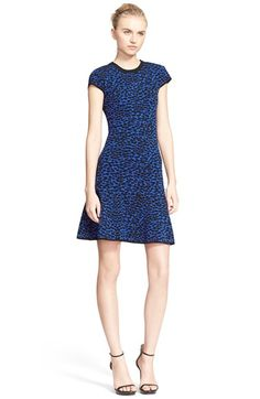 Michael Kors Knit Fit & Flare Dress available at #Nordstrom