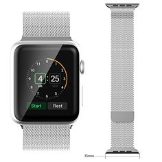 PUGO TOP EURO® Stainless Steel Watchband with Classic Buckle for Apple Watch (42mm, Milanese Loop) PUGO TOP EURO® http://www.amazon.co.uk/dp/B012RWFMIS/ref=cm_sw_r_pi_dp_iGZWvb0696YHW