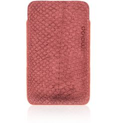 #PhoneCase made of fish leather (salmon) | Design by Redmaloo