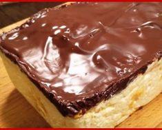 Cel mai gustos desert. Pur și simplu ai turnat și e gata! - Gospodina Romanian Food, Sweet Tarts, Food Cakes, Chocolate, I Foods, Cake Recipes, Bacon, Food And Drink, Pudding