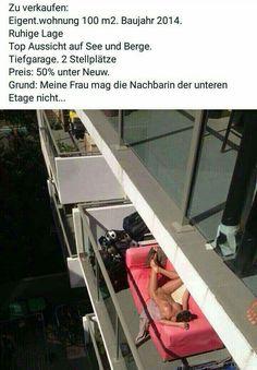 Sieht doch nett aus ... der Balkon.