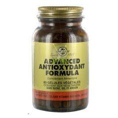 Formula Antioxidante de Solgar, supplemento alimenticio de solgar, suplemento antioxidante para ayudar a reducir los radicales libres.