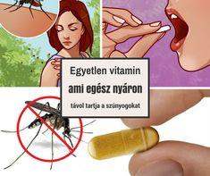 Egyetlen vitamin, ami egész nyáron távol tartja a szúnyogokat + 4 tipp