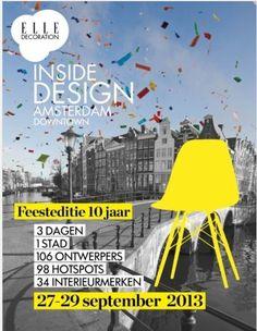 De Oolaboo Brand Store doet mee aan Elle Inside Design van 27 tot en met 29 september! Kijk op  www.elle.nl/insidedesign voor meer info.