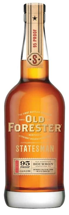 Old Forester Statesman Straight Bourbon Whiskey | @Caskers