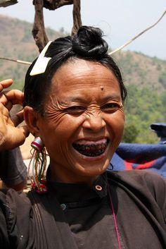 The tribal village of Pan Le, Shan state, Myanmar / Burma, via Flickr.